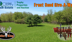 Frost Seeding Give-A-Way